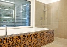 frei begehbare Dusche